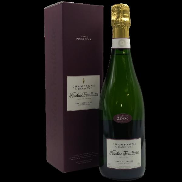 Brut Blanc de Noirs Grand Cru Champagne AOC 2006 Nicolas Feuillatte