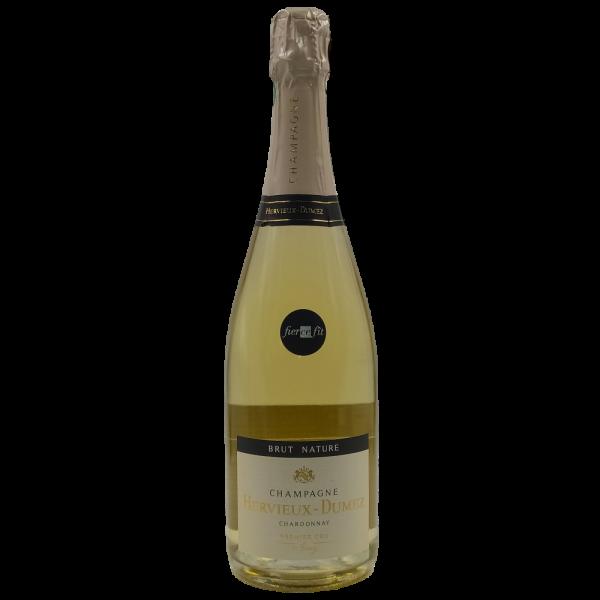 Brut Nature Premier Cru Champagne AOC Hervieux Dumez