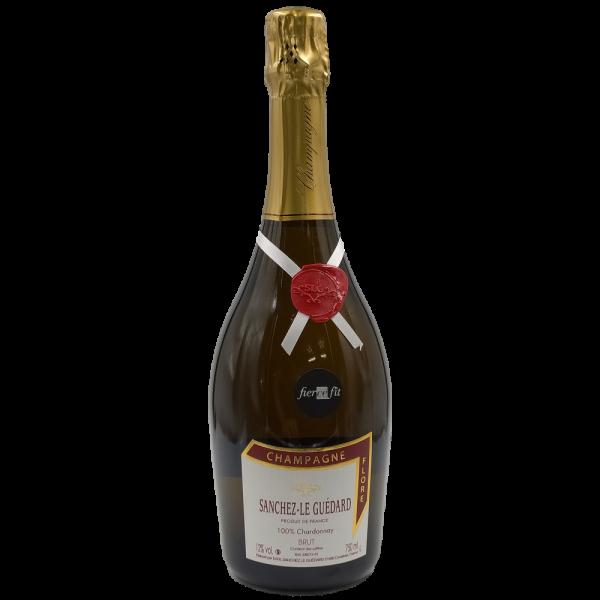 Cuvèe Flore Brut Champagne AOC Sanchez Le Guedard