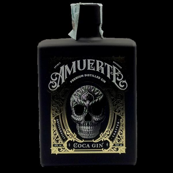 Gin Amuerte Coca Leaf Black