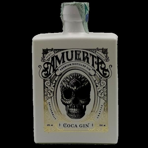 Gin Amuerte Coca Leaf white Edition