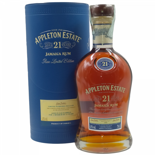 Rum Appleton Estate Aged 21 Year Atucciato