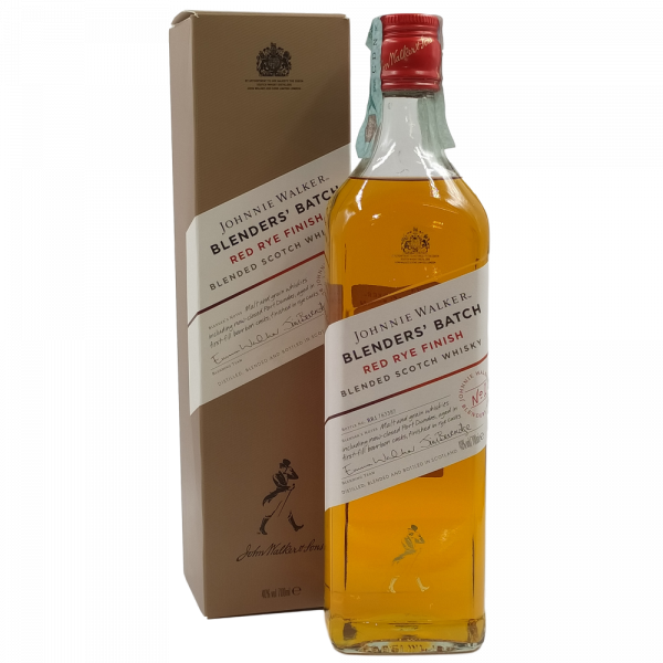 Whisky Johnnie Walker Blenders Batch Red Rye Finish