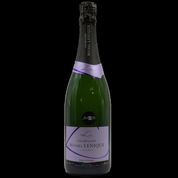 champagne noirs de reserve michel lenique