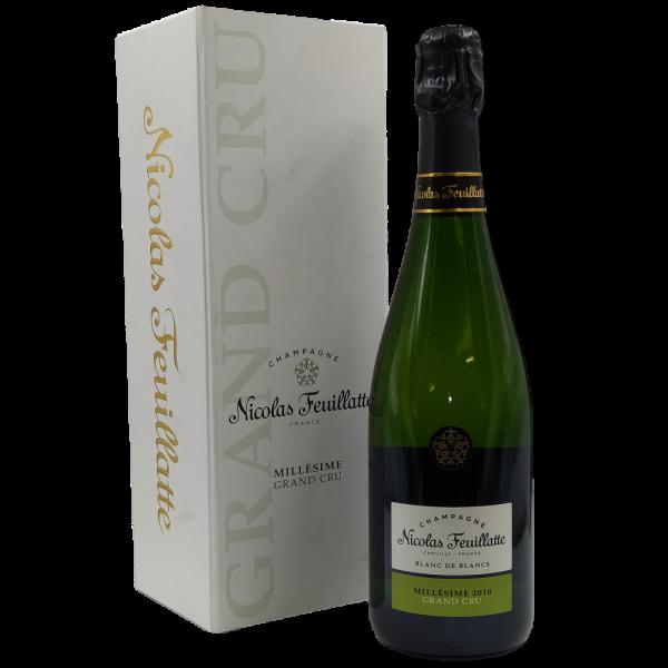 Brut Millesimato Blanc de Blancs Grand Cru Champagne AOC 2010 Nicolas Feuillatte