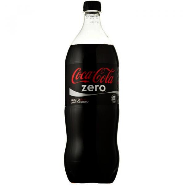 Coca Cola zero bottiglia