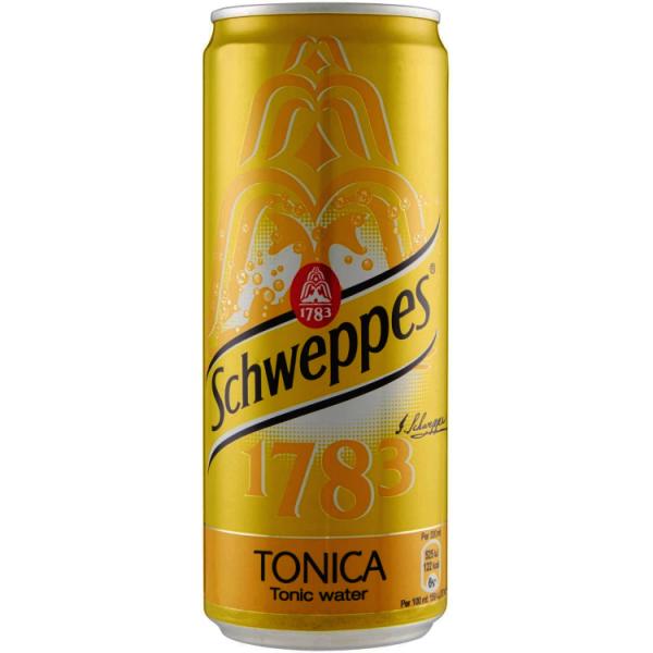 Schweppes Tonica Lattina 33 cL x 6
