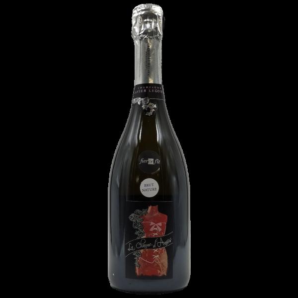 champagne le charme d anais brut zero xavier leconte