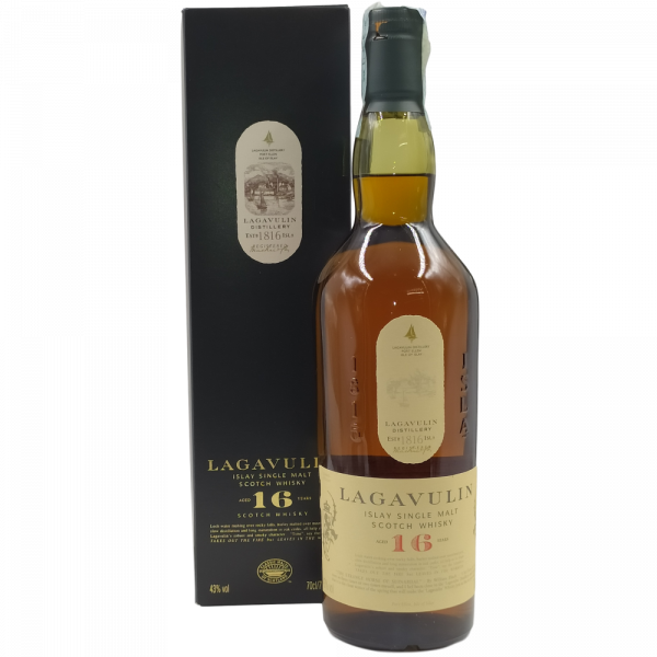 Lagavulin Scotch Whisky Islay Single Malt 16 Years