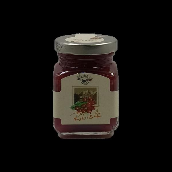 Ribisla composta di frutta Ribes rosso 110g Alpe Pragas