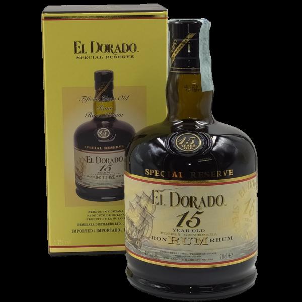 Rum Special Reserve 15 Year Old El Dorado