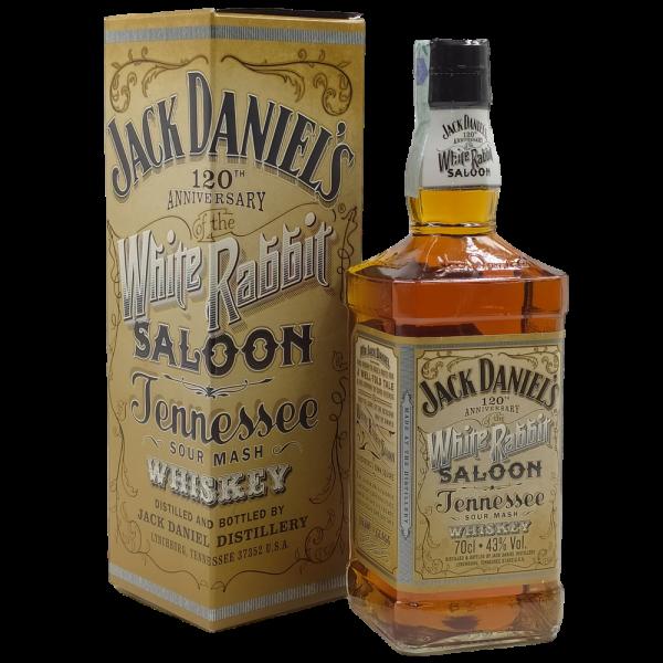 Whiskey White Rabbit Saloon Anniversary 120th Tennessee Sour mash Jack Daniels