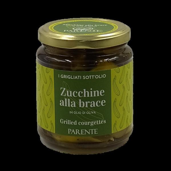 Zucchine alla Brace in Olio di Oliva 280g Parente