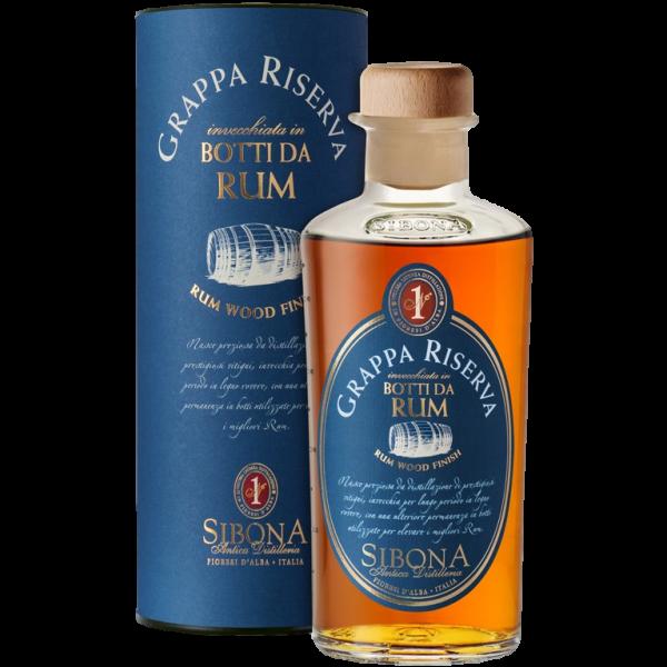 Grappa Riserva Botte Rum