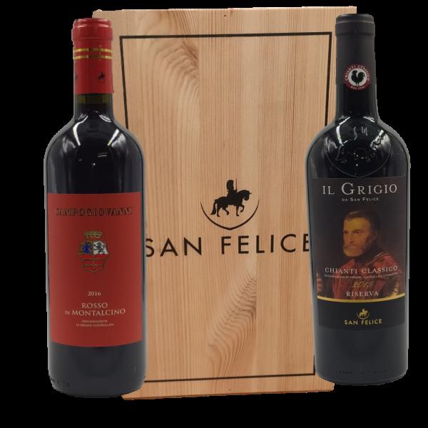 Rosso di Montalcino e Chianti Classico Riserva