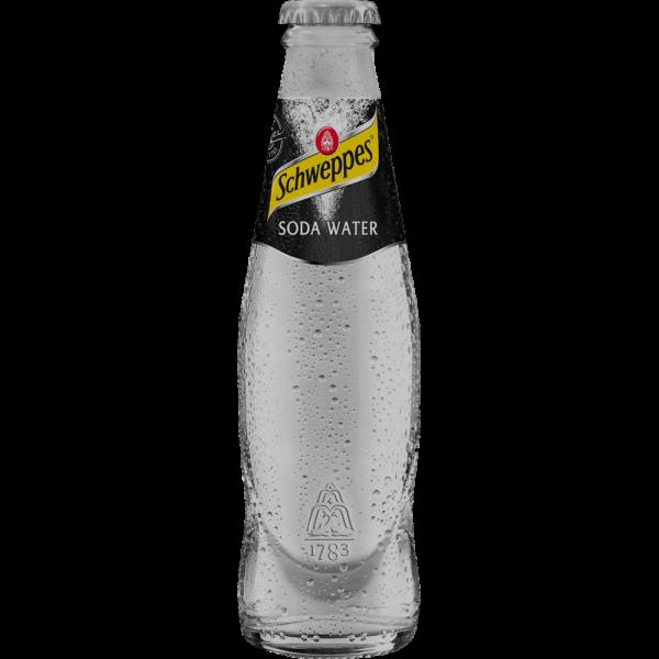 Schweppes Soda Water vetro 200ml