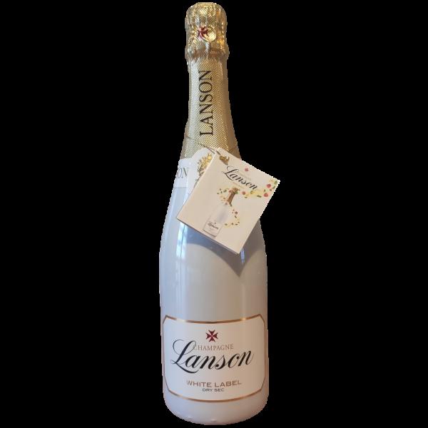 White Label Dry Sec Champagne AOC Lanson